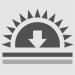 ícone proteção contra raios ultra violeta
