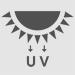 ícone proteção ultra violeta